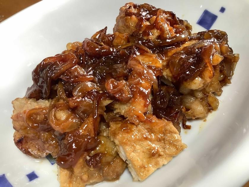 ぶ厚い豚ロース肉の生姜焼き♬