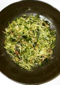 茗荷わかめサラダ♪簡単漢方夏の食養生