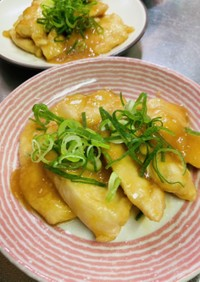 鶏胸肉の生姜焼き