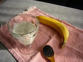 ★黒ゴマ豆乳バナナジュース★