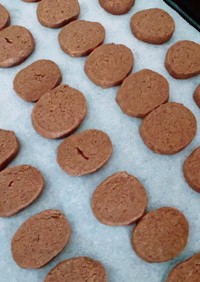 ココアクッキー(卵なし)