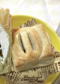 うめジャムとクリームチーズのパイ