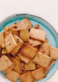 袋で簡単!紅茶&チョコ風味おからクッキー