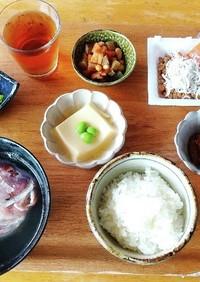 朝ごはん(6/13) 和食