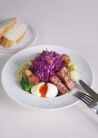 サラダ・リヨネーズ(リヨン風サラダ)