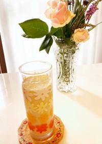 低糖質 オレンジ色のスムージー