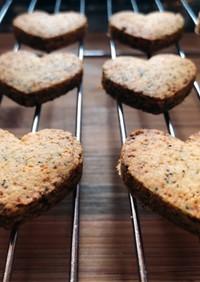 小麦不使用・低糖質な紅茶クッキー