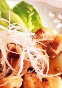 生姜焼きのタレで鶏肉さっぱり焼き