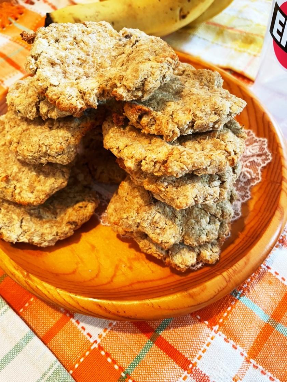 簡単 生おからオートミールバナナクッキー