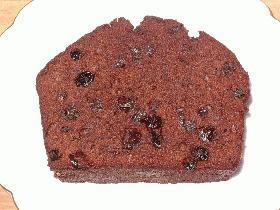 ラムレーズンチョコレートケーキ