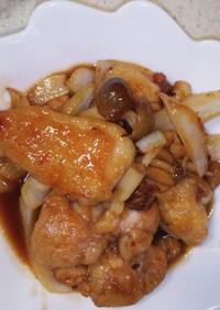 鶏の甘酢照り焼き