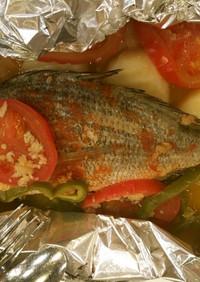 ペイシェノフォルノ(魚のオーブン焼き)