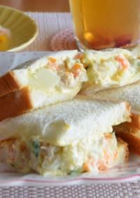朝食♡ランチ♡優しいポテサラサンドイッチ