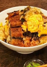 うなぎと高菜と卵の混ぜご飯〜何食べ#23