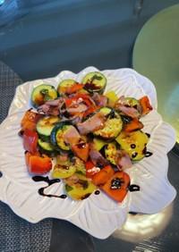色とりどり野菜のイタリアン炒め