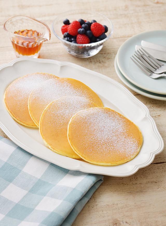 もちふわ北海道♪ヨーグルトパンケーキ