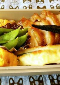 男子高校生お弁当(28)鶏の照り焼き丼
