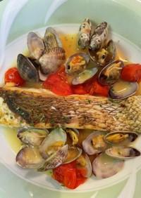 簡単美味しいイタリアン。アクアパッツァ