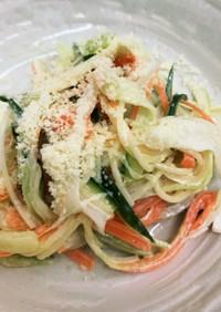 カッペリーニの野菜サラダ!