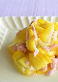 副菜♡ズッキーニの甘酢漬けとツナの和え物