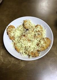 ニンニク多めの長芋ステーキ