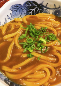 トロ~リ美味しいが麺に絡む☆カレーうどん