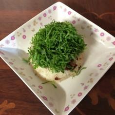 豚肉と大葉のちらし寿司