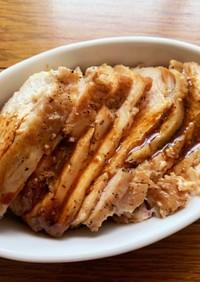 レンジで簡単!国産鶏むね肉サラダチキン③