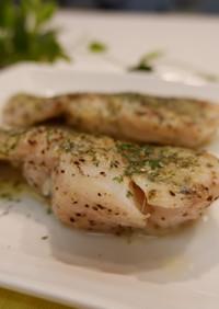 白身魚のムニエル~レモンバターソース~