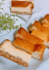 我が家のベイクドチーズケーキ○*