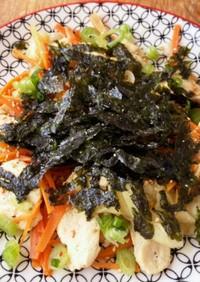 韓国風 鶏野菜炒め