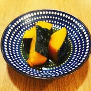 簡単ほったらかしでできる!かぼちゃの煮物の写真