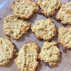オートミールのきな粉クッキー
