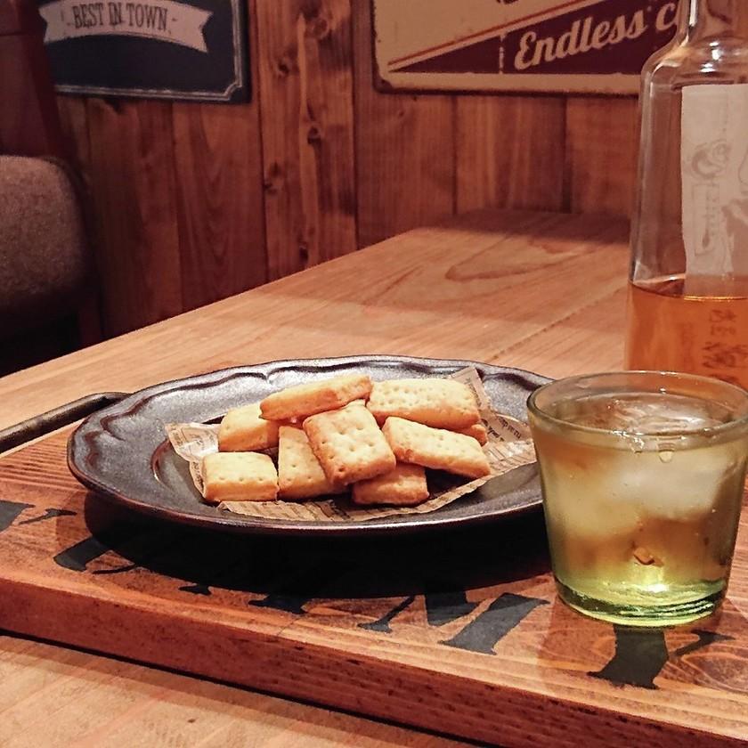 おうち居酒屋★チーズクラッカー