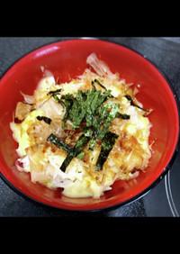 お昼ご飯超簡単 めんつゆチーズご飯