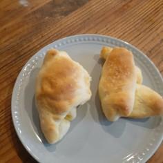 発酵なしの塩パン
