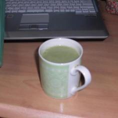 超低カロリーホット抹茶ミルク
