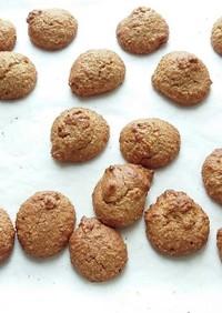 みそパンみたいなオートミール粉のクッキー