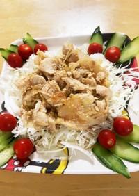 鶏むね肉の簡単生姜焼き