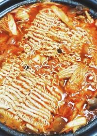 【本格】プデチゲ【簡単】サッポロ一番味噌