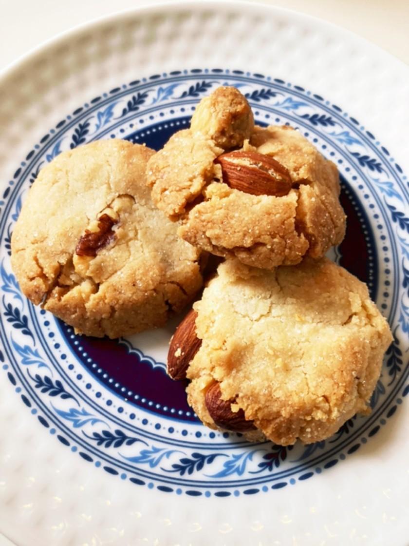 ポリ袋で!グルテンフリー米粉クッキー♪