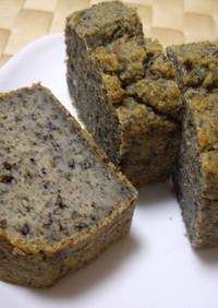 しっと〜り♪黒ゴマパウンドケーキ
