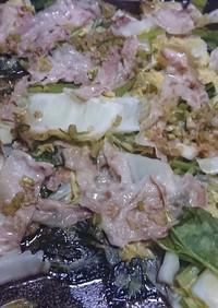 豚バラと白菜の重ね蒸し