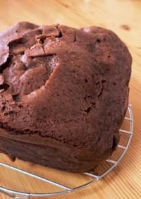 (記録)チョコ蒸しケーキ