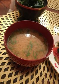 かたくて甘くない干し芋de⭐︎お味噌汁!