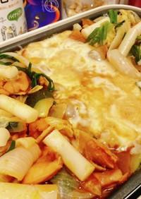 焼肉のタレで簡単!チーズタッカルビ