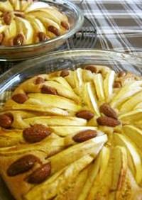 簡単サラダオイルで作るアップルケーキ