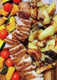 簡単 豚バラブロックのオーブン焼き