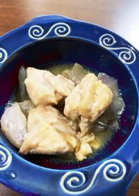 鶏肉玉ねぎのポン酢炒め煮