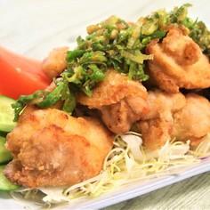 油淋鶏(飯田のたれだら使用)